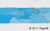 Political Panoramic Map of Lumphăt