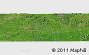 Satellite Panoramic Map of Lumphăt