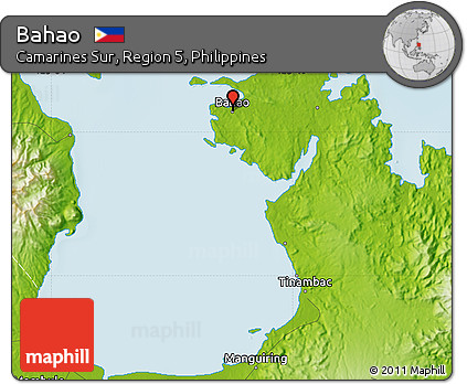 Physical Map of Bahao