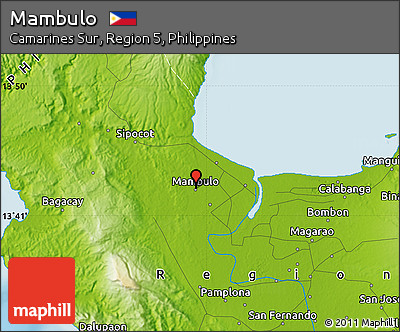 Physical Map of Mambulo