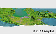 Satellite Panoramic Map of Luawan