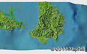 Satellite 3D Map of Gibgos