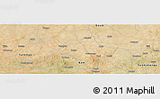 Satellite Panoramic Map of Abra