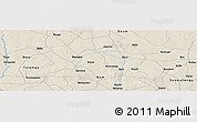 Shaded Relief Panoramic Map of Abra