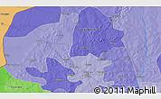 Political 3D Map of Titao