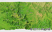 """Satellite 3D Map of the area around 13°44'54""""N,37°28'30""""E"""