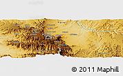 Physical Panoramic Map of Adi Remets
