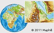 Physical Location Map of Hagula