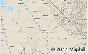 """Shaded Relief Map of the area around 13°44'54""""N,40°52'30""""E"""