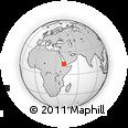 Outline Map of Bariressu, rectangular outline