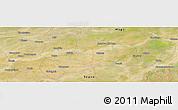 "Satellite Panoramic Map of the area around 13°44'54""N,5°1'30""W"