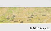 Satellite Panoramic Map of Sankoura