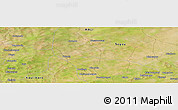 "Satellite Panoramic Map of the area around 13°44'54""N,6°43'29""W"