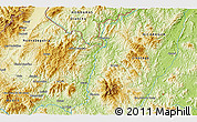 Physical 3D Map of La Jumuyca