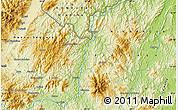 Physical Map of La Jumuyca
