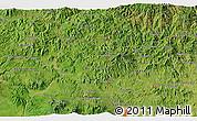 Satellite 3D Map of Sensuntepeque