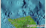 Satellite Map of Paia