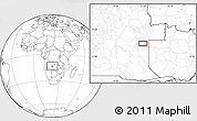Blank Location Map of Cacondo