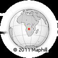 Outline Map of Cacondo, rectangular outline