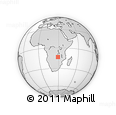 Outline Map of Mapeleka, rectangular outline