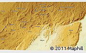 Physical 3D Map of Esau