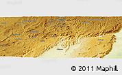Physical Panoramic Map of Esau