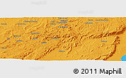 """Political Panoramic Map of the area around 13°24'15""""S,30°40'29""""E"""
