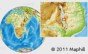 Physical Location Map of Lichinga