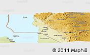 Physical Panoramic Map of Lichinga