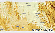 """Physical 3D Map of the area around 13°24'15""""S,42°25'29""""W"""