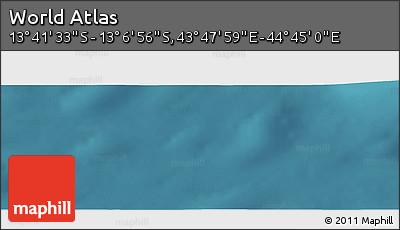 "Satellite Panoramic Map of the Area around 13°24'15""S,44°16'29""E"