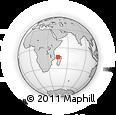 "Outline Map of the Area around 13° 24' 15"" S, 45° 7' 30"" E, rectangular outline"