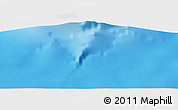 "Shaded Relief Panoramic Map of the area around 13° 24' 15"" S, 45° 7' 30"" E"