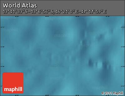 "Satellite Map of the Area around 13°24'15""S,46°49'30""E"
