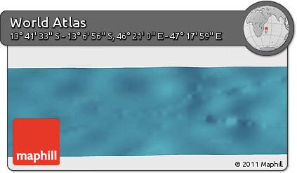 "Satellite Panoramic Map of the Area around 13°24'15""S,46°49'30""E"