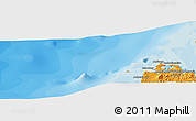 """Political Panoramic Map of the area around 13°24'15""""S,47°40'29""""E"""