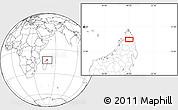 Blank Location Map of Ambilobe
