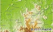 Physical Map of Ambilobe