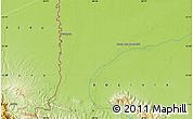 Physical Map of Alto Madidi