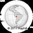 Outline Map of Alto Madidi, rectangular outline