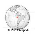 Outline Map of Saqsaywaman, rectangular outline