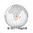 Outline Map of Makiya, rectangular outline