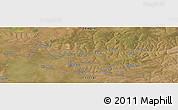 Satellite Panoramic Map of Bokoya