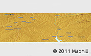 Physical Panoramic Map of Kapiri Mposhi