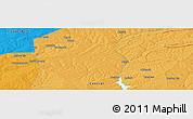 Political Panoramic Map of Kapiri Mposhi