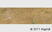 Satellite Panoramic Map of Kapiri Mposhi