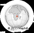 Outline Map of Luano, rectangular outline