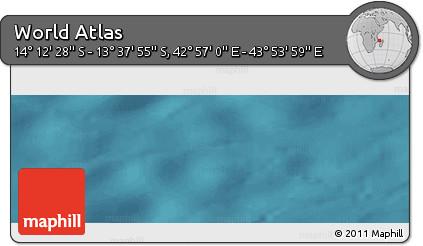 "Satellite Panoramic Map of the Area around 13°55'11""S,43°25'29""E"