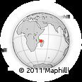 "Outline Map of the Area around 13° 55' 11"" S, 44° 16' 29"" E, rectangular outline"