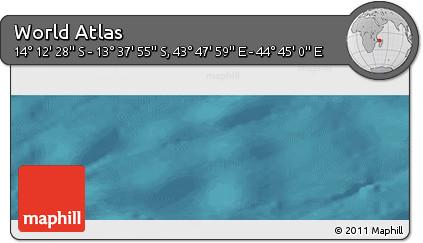 "Satellite Panoramic Map of the Area around 13°55'11""S,44°16'29""E"